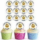 Paw Patrol Rubble 24 Personalised Pre-Cut Edible Cupcake Top