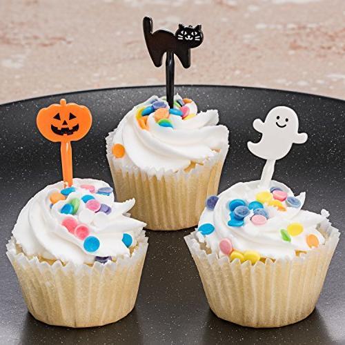 Prextex Halloween Picks Ghost Jack 'O Black