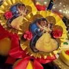 Princess Belle Beauty & The Beast Party  3D Cupcake Toppers
