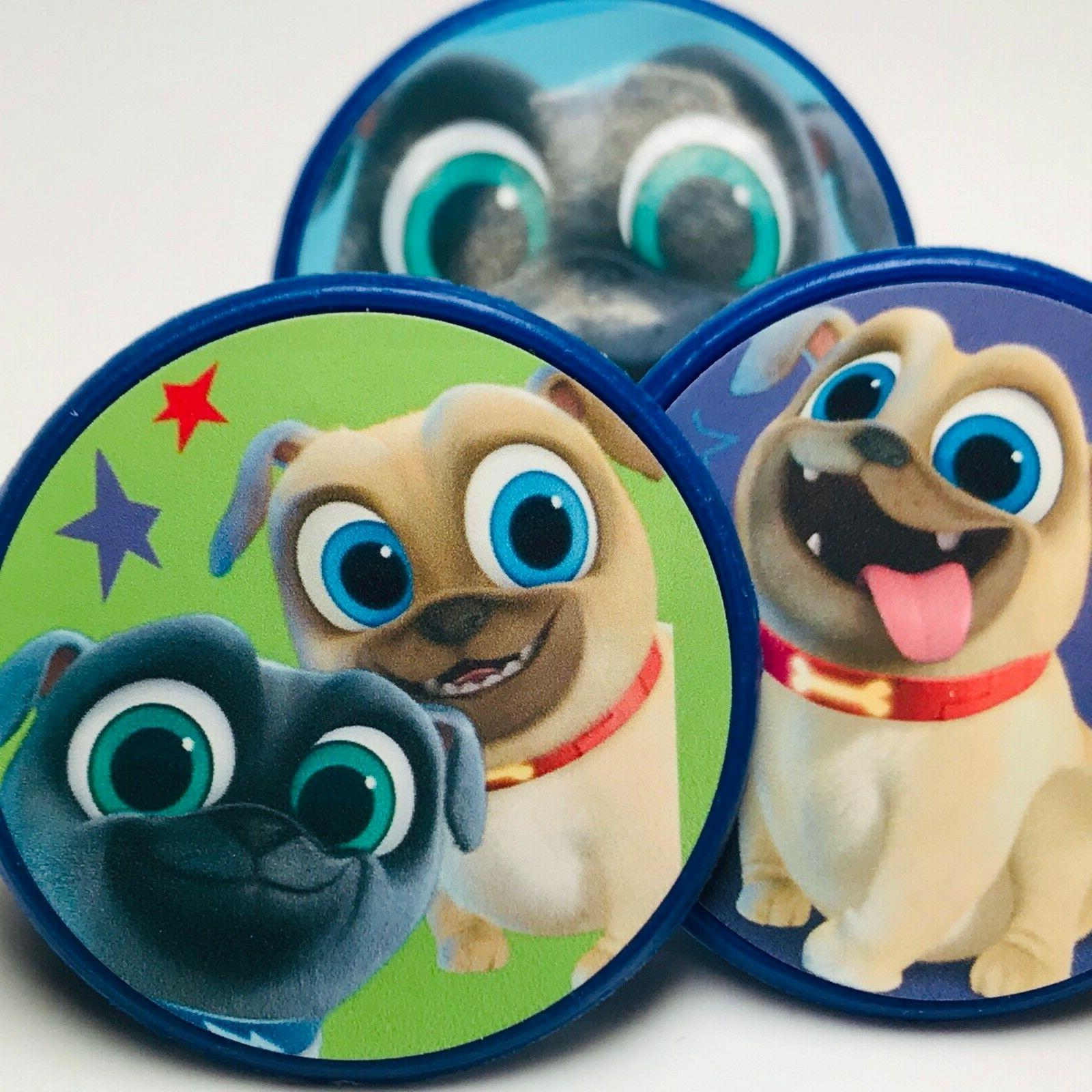 puppy dog pals cupcake toppers birthday party