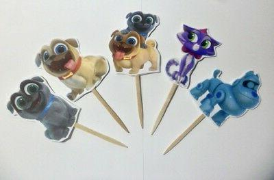 Puppy Dog Pals, Cupcake Toppers, Cake pop, Party Supplies &
