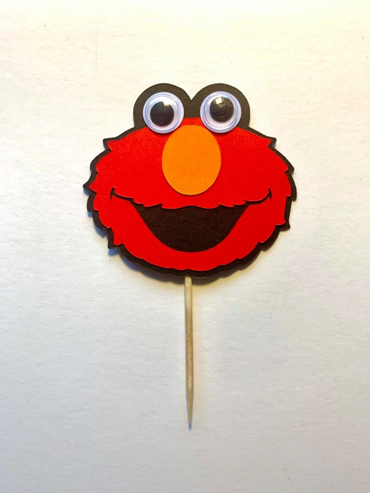 Sesame Street Cupcake Toppers / Themed