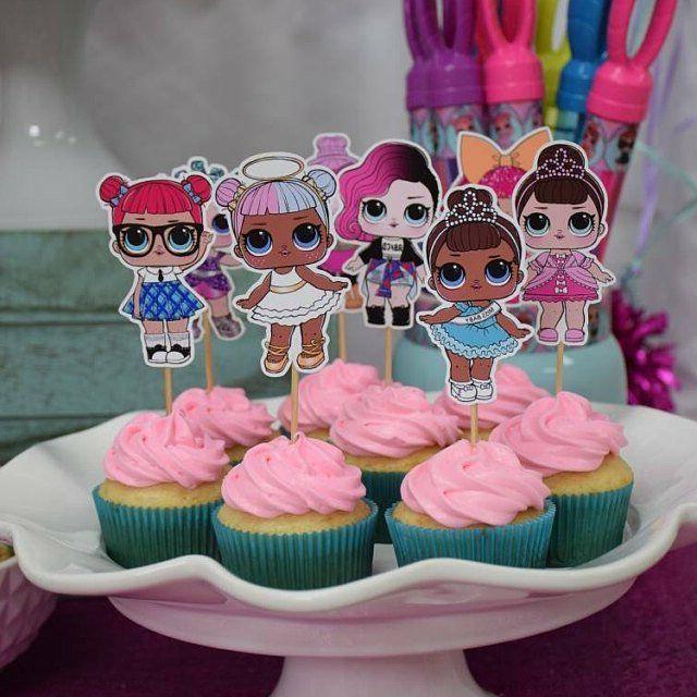 Set of Surprise Dolls Cupcake