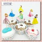 Set of 24pc Cute Disney Princesses, Dessert Muffin Cupcake T