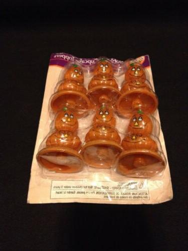 Set Of 3 Bobbling Toppers 6 Halloween