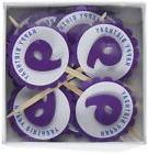 All About Details Shimmer Purple 9th Birthday Cupcake Topper