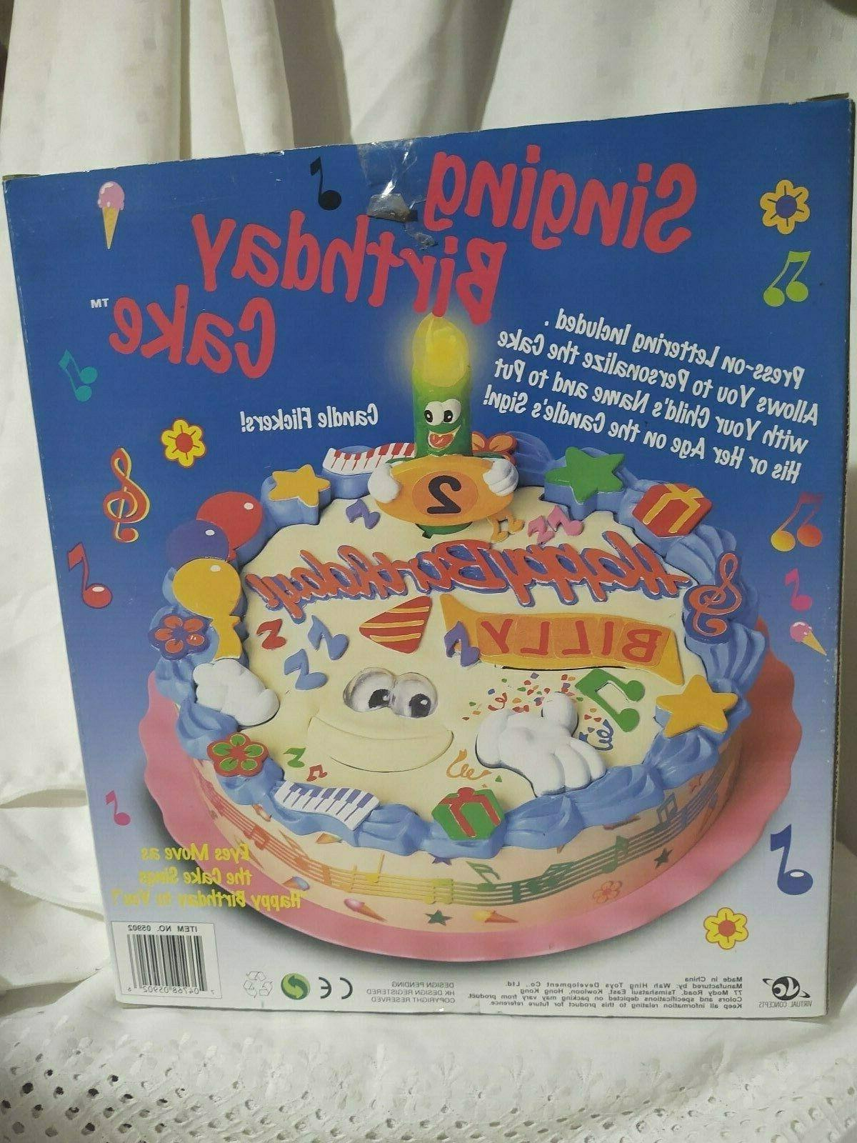 Singing Birthday Customize Name Eyes Move Party