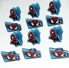 Spiderman Cupcake Rings DecoPac Cake Decoration Party Favors