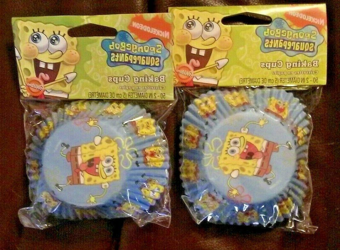 Wilton Spongebob Squarepants Baking Cup -- 6 per case.