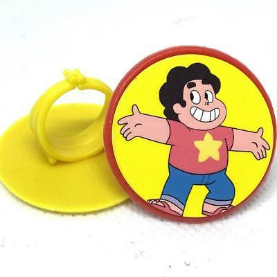 Steven Universe Cupcake Toppers Party Favors Rings - Set of