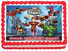 SUPER HERO SQUAD Party Image Edible Cake topper design