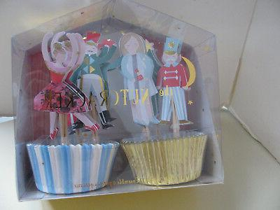 the nutcracker cupcake kit 24 cups