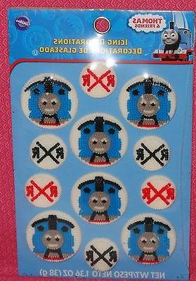 thomas the tank engine edible cupcake toppers