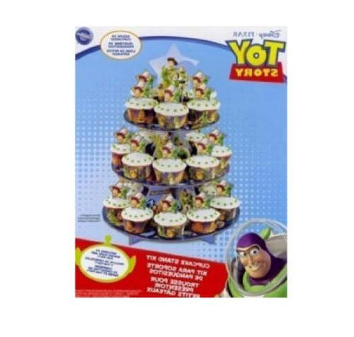 Wilton Story Cupcake Stand Holds 24 Cupcakes! of 2