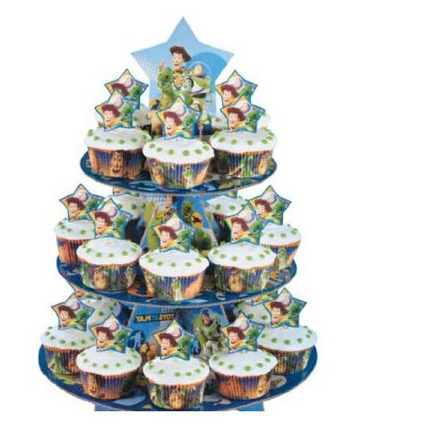 Wilton Toy 3-tier Cupcake Stand Kit 24 Case Pack of 2