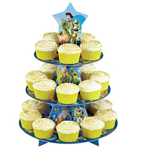 toy story 3 tier cupcake