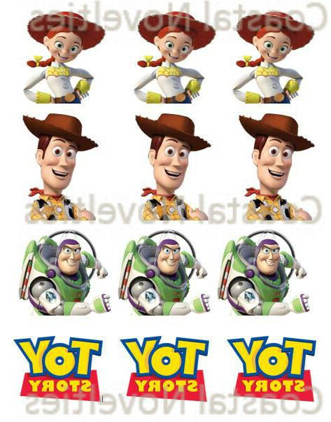 toy story cupcake toppers edible image assortment