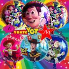 Toy Story Foil Party Latex Birthday Balloons Cupcake Toppers