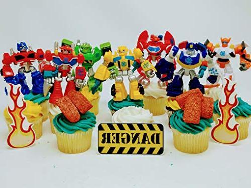 transformer birthday set featuring random