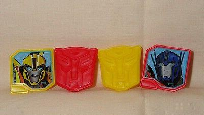 transformers cupcake party rings toppers multi color