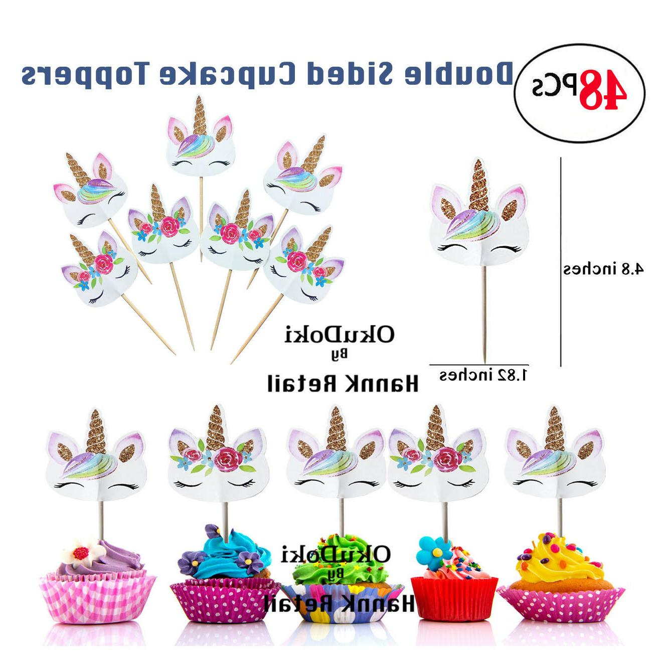 Unicorn Party Decoration, Topper, Banner, Balloon