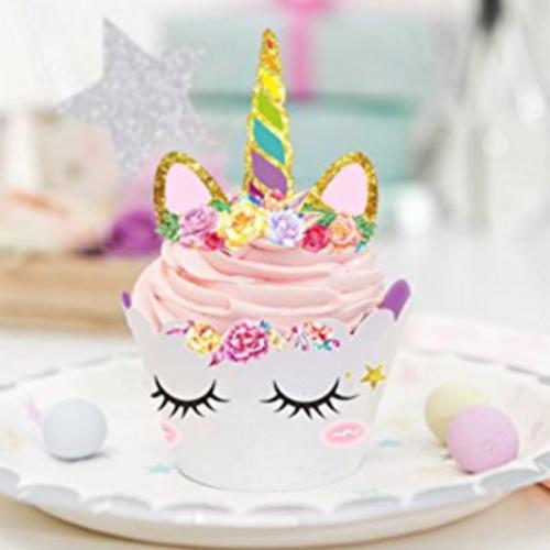 24Pcs/Set Cupcake