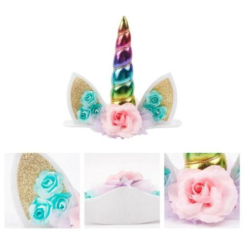 Unicorn Kids Baby Party Cupcake