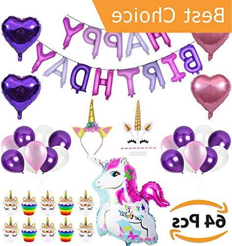 unicorn party supplies decorations