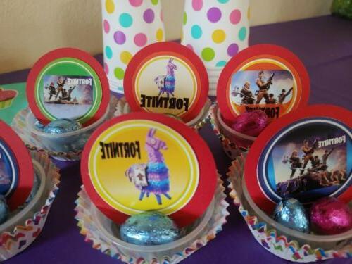 Video Games cupcake 24 pieces llama