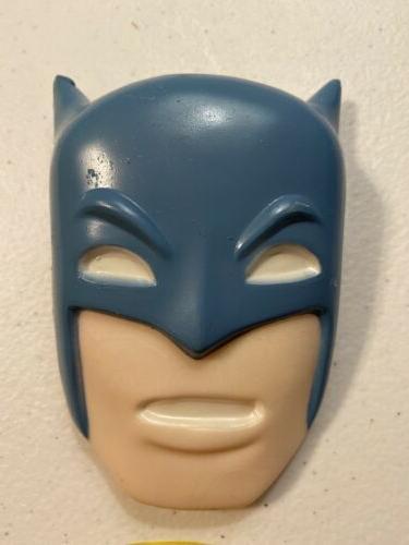 WILTON BATMAN CAKE TOPPERS 1977- MOLDED PLASTIC