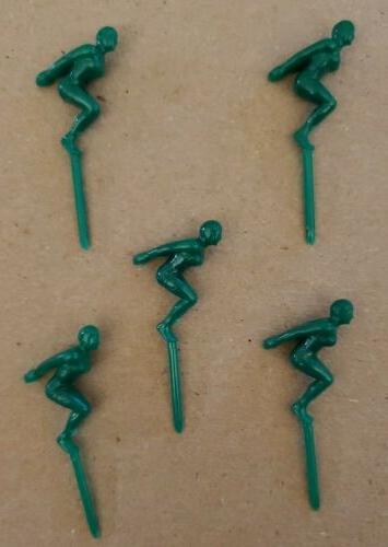 Vintage TOPPERS Plastic Figures COLOR