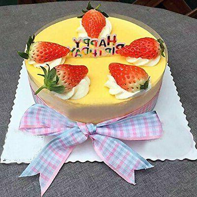 Warmtree Colourful Cupcake Picks Cake of 50