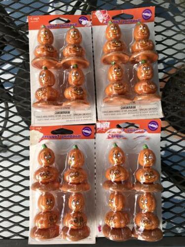 wilton halloween pumpkin bobbling jack o lantern