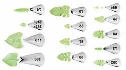 Wilton Leaf Decorating Tips Tip Assorted Cake Icing 65 65s 6