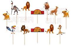 Lion King Cupcake Toppers 12 or 24 pc Birthday Party Supplie