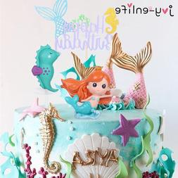Little <font><b>Mermaid</b></font> Party Cupcake Wrappers Ha