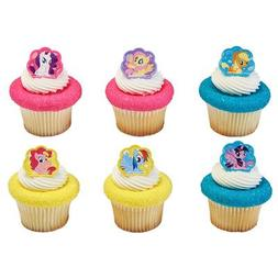 My Little Pony Cutie Beauty Cupcake Rings - 24 pc
