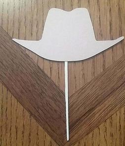 Lot of 12 Cowboy Hat Cupcake Toppers!