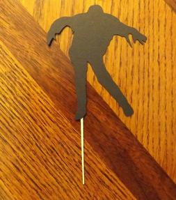 Lot of 12 Zombie Cupcake Toppers! Design 2