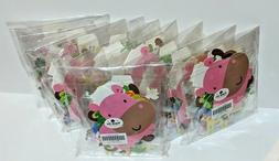 Lot of Safari Animal Cupcake Pick Toppers and Banner Party D