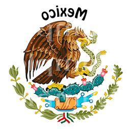 Mexico Eagle Birthday ~ Edible 2D Fondant Cake Cupcake Toppe