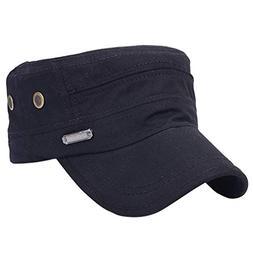 Suma-ma 5Colors Unisex Military Hats -Sailor Caps Cotton Ber