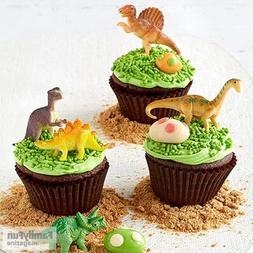 Mini Dinosaurs Toys Cupcake Toppers, Dinosaur Cake Decoratio
