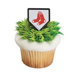 MLB Cupcake Topper Rings - Boston Red Sox