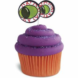 Wilton Monster Eyes Halloween Birthday Cupcake Toppers 5 Pac