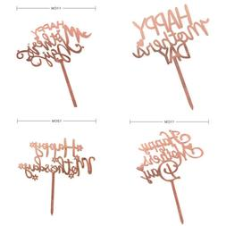 Mother's Day Cupcake Toppers Cup Cake Decorations Cake Toppe