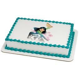 Mulan Edible Cake OR Cupcake Toppers Decoration