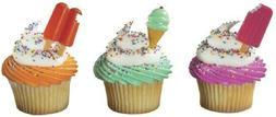 New Cake Toppers Summer Treats Cupcake Picks One Dozen