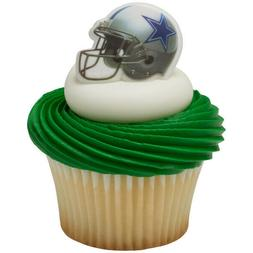 NFL Cake Toppers Dallas Cowboys Cupcake Rings Football