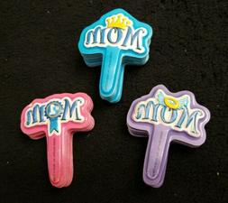 NOS Lot of 64 Happy Mother's Day Mom deco Cupcake Toppers Ar